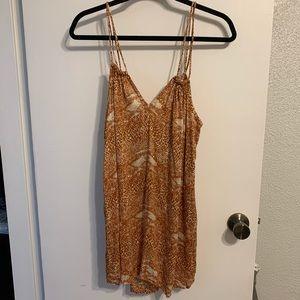 Acacia Mud Snake Print Dress